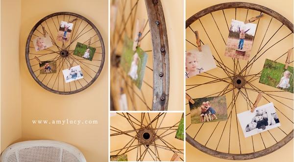 decoracion ruedas bicicleta